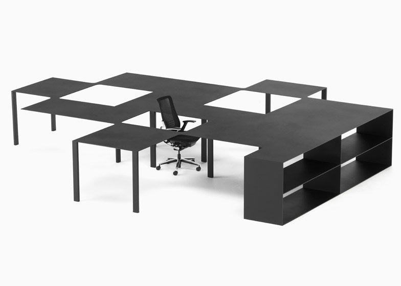 Nendo office furniture for Kokuyo