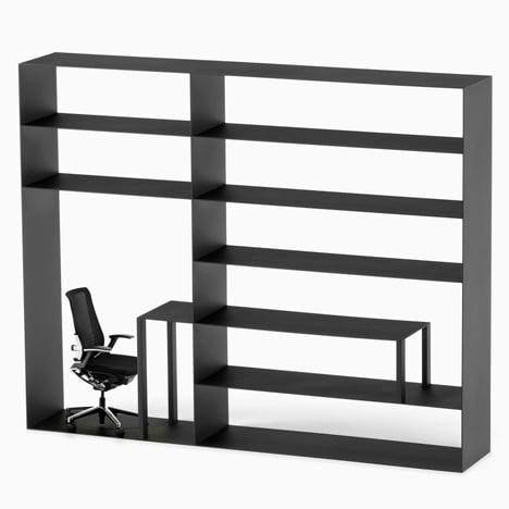 Nendo reconfigures office furniture elements into hybrid designs for Kokuyo