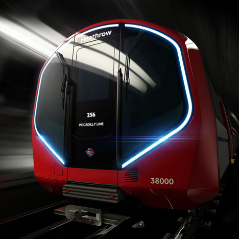 Priestmangoode unveils driverless tube train designs for London Underground