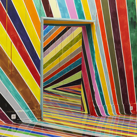 Markus Linnenbrink's Off the Wall! installation immerses visitors in colour