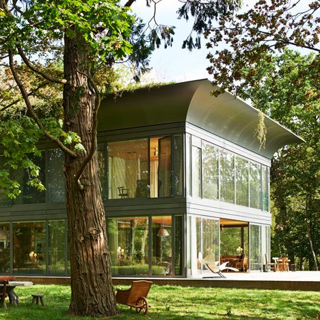 Philippe Starck's new home is the prototype for a new prefab housing collection