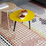 Chunky stitches pattern Bandas rugs and furniture by Patricia Urquiola