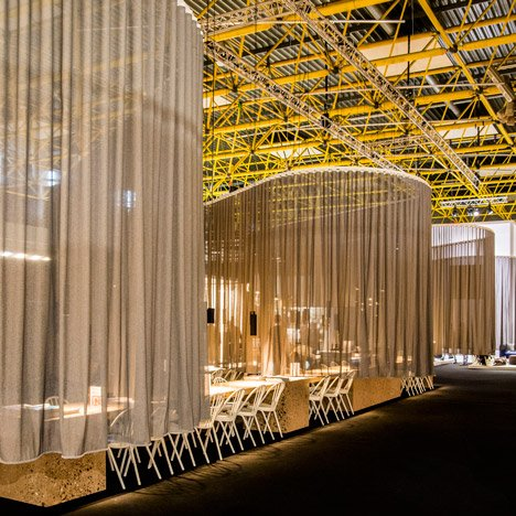 Biennale Interieur 2014 award winners realise bar concepts at Kortrijk Xpo