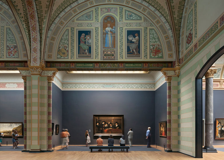 Buildings in use: Rijksmuseum renovation by Cruz and Ortiz - photographed by Duccio Malagamba