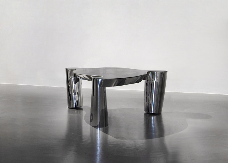 3 Legs and a Table by Ron Arad