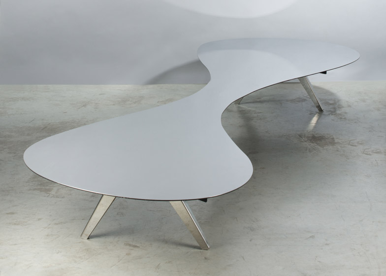 Table Paved with Good Intentions by Ron Arad
