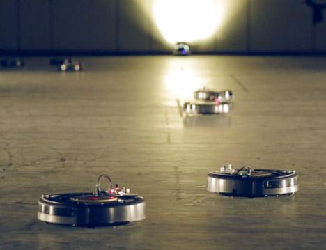 Roomba Ballet at Biennale Interiur by Pietro Leoni