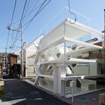 Yuusuke Karasawa's maze-like S House has an entirely transparent facade