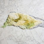 Studio Nienke Hoogvliet uses algae yarn to create Sea Me rug