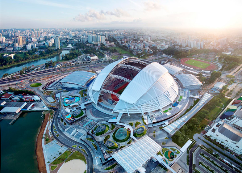 Singapore Sports Hub by Singapore Sports Hub Design Team