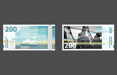Snohetta Graphics To Feature On Norwegian Banknotes