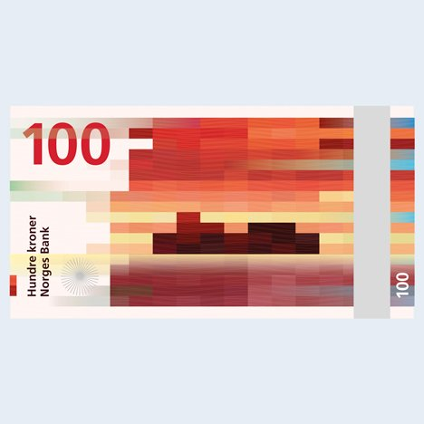 Snøhetta designs bank notes for Norway