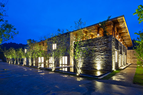 Son La Restaurant by Vo Trong Nghia Architects