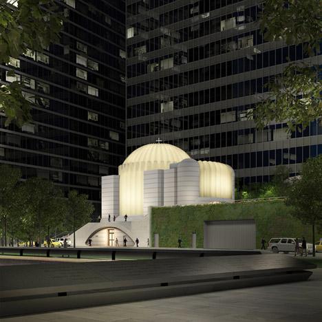 Work starts on Calatrava-designed Greek Orthodox Church on World Trade Center site