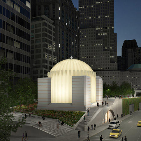 St Nicholas National Shrine designed by Santiago Calatrava