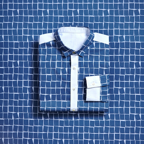 Eley Kishimoto creates six geometric prints for menswear collaboration