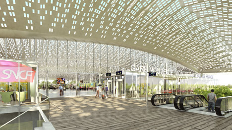 Marc Mimram appointed to design Montpellier's new TGV station