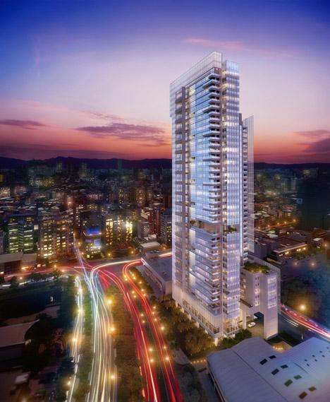 Taichung Condominium Tower by Richard Meier