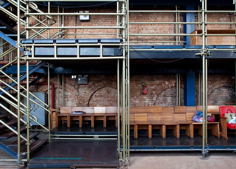 Teatro Oficina, São Paulo by Lina Bo Bardi