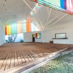 "The Chapel by a21studio is like ""a big colourful lantern"""