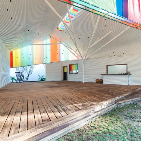 "The Chapel by a21studio is like<br /> ""a big colourful lantern"""
