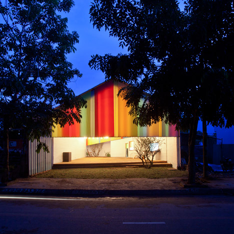 The Chapel community space in Vietnam by a21studio wins World Building of the Year 2014