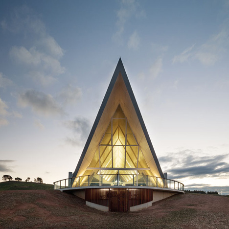 World Landscape of the Year 2014 prize goes to Australian garden with a pointed pavilion