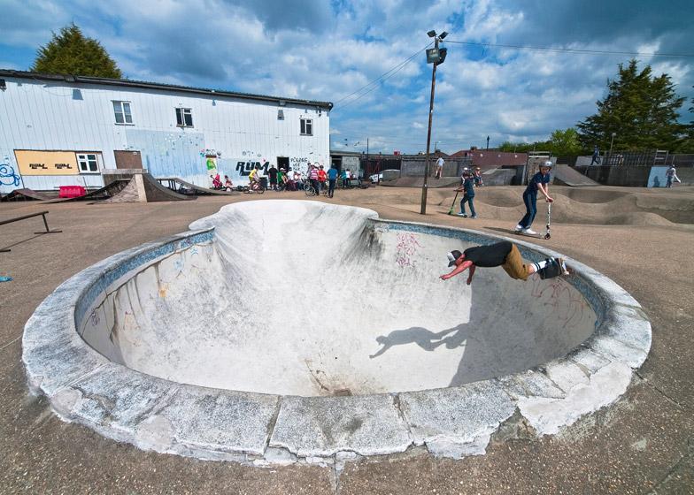 The Rom Skatepark awarded listed status