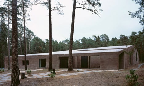 The New Crematorium by Johan Celsing Arkitektkontor