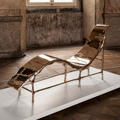 Tjep creates Bronze Age furniture in opposition to 3D printing