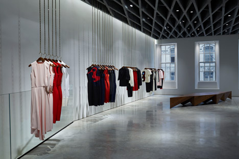 36 Dover Street by Farshid Moussavi for Victoria Beckham