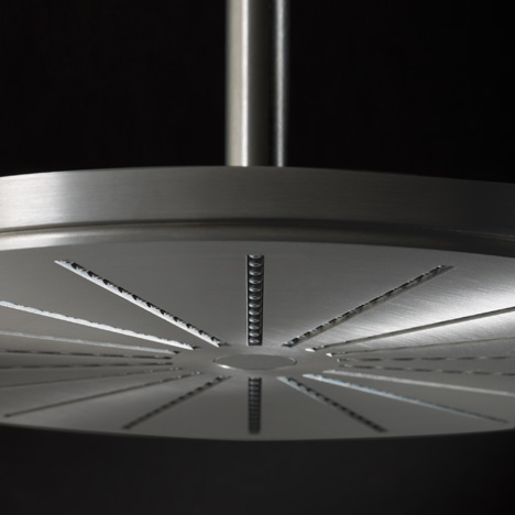 060 round shower head by Aarhus Arkitekterne for Vola