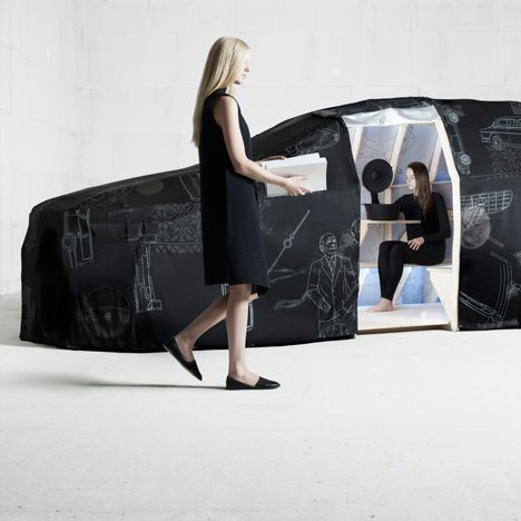 "Van Eijk & Van der Lubbe design ""an experience in motion"" for Volvo"