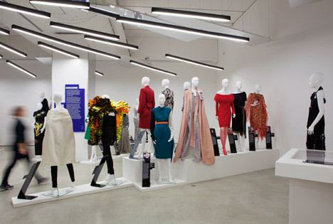 "Interior Design Exhibitions 2014 zaha hadid ""chose herself"" to design women fashion power exhibition"