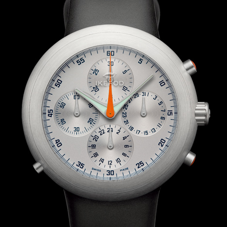 Ikepod Hemipode watch by Marc Newson
