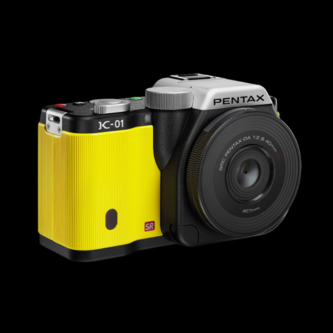 Pentax K01 by Marc Newson