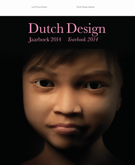 Cover of Dutch Design Yearbook featuring the winning project, Sweetie by Lemz