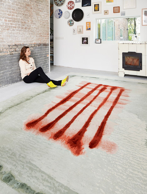 Dutch Landscape Rug by Kiki van Eijk