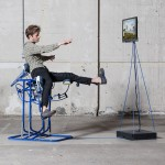 Govert Flint's Dynamic Chair turns the body into a computer mouse