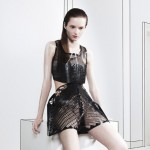 Martijn van Strien launches experimental fashion label with laser-cut garments