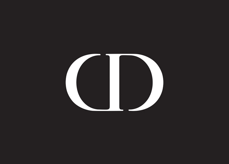 Christian Dior logo by Neville Brody