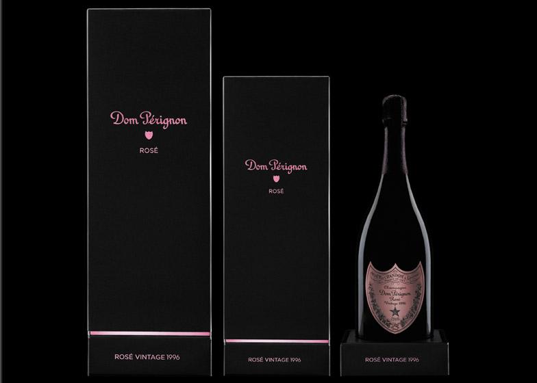 Dom Peringnon rebrand by Neville Brody