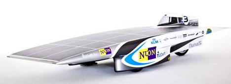 Nuna 5. Photo by Hans Peter van Velthoven, via Delft University of Technology