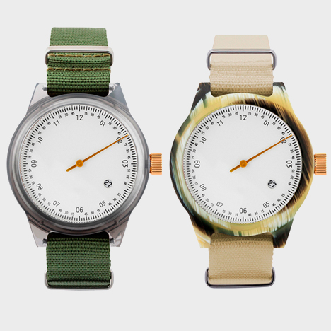 New editions of Minuteman watches by Squarestreet