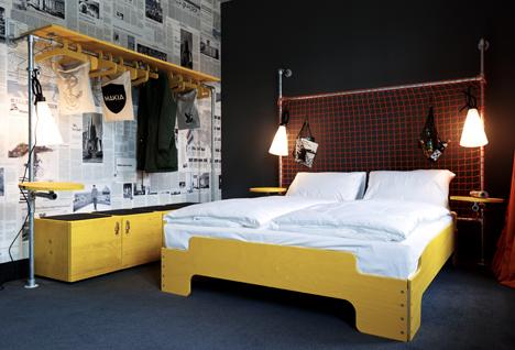 Superbude II hostel, Hamburg, Germany by Dreimeta, competing in Sleep Set