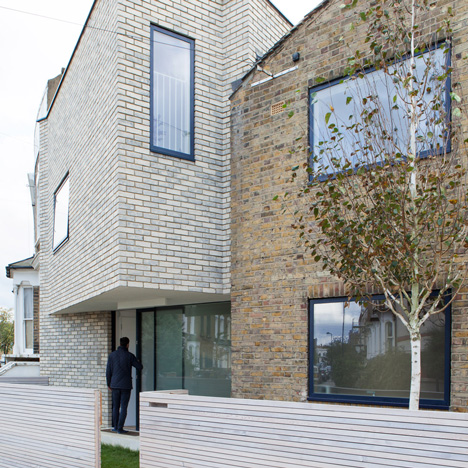 Lipton Plant Architects adds pale-brick extension to north London home