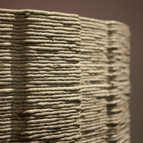 3D-printed concrete by Foster + Partners