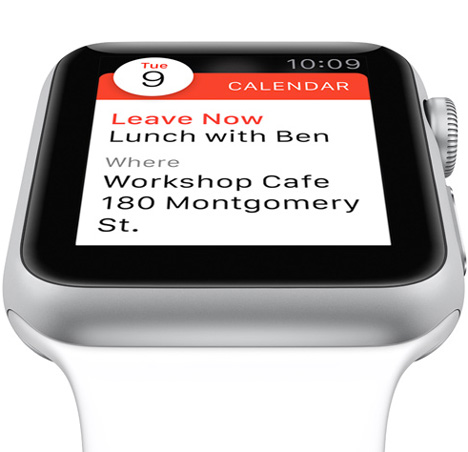 Apple Watch San Francisco typeface