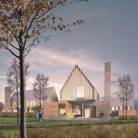 Czech and UK architects win Prague housing project