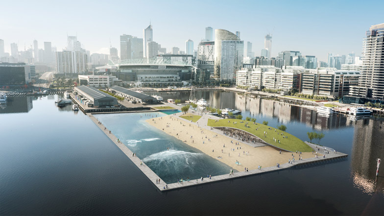 Surf Park Docklands by Damian Rogers Architecture